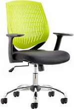 Rosina Green Operator Chair, Green
