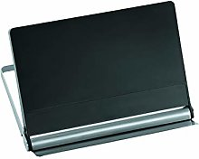 Rosle Stainless Steel Cookbook Holder, Black