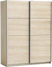 Rossett Wooden Wardrobe Large In Shannon Oak And