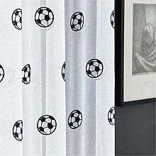 rostsp Curtain Football Curtains Embroidered