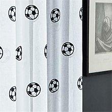 rostsp Eyelet Curtains Football Curtains