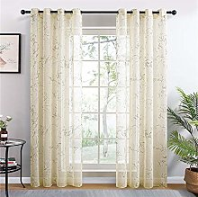 rostsp Voile Curtain Panel Lily Sheer Curtains For