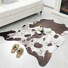 Rostyle Faux Cowhide Rug Cute Cow Hide Rug for