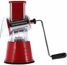 Rosvola Rotary Drum Grater, Stable Green/Red