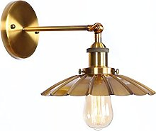 Rotable Wall Lamps, Antique Metal Wall Mounted