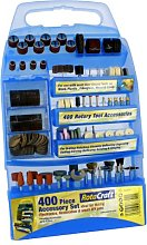 Rotacraft 400 Piece Rotary Tool Accessory set in