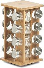 Rotary 6-Jar Free-Standing Spice Rack Zeller