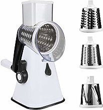 Rotary Cheese Grater Shredder Chopper Round