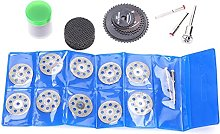 Rotary Electric Grinding Disc Set, Tool Kit