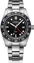 Rotary Men's Stainless Steel Bracelet Watch