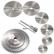Rotary Tool Accessories Kit HSS Circular Saw Blade