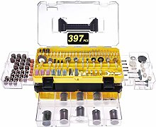 Rotary Tool Accessories Kit, Longmate 397 pcs
