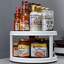 Rotatable Desktop Kitchen Storage Tray