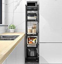 Rotating Multi Layer Kitchen Shelf 5-Tier Storage