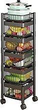 Rotating Storage Shelf, 5-tier Heavy Duty