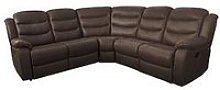 Rothbury Luxury Faux Leather Manual Recliner