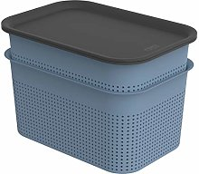 Rotho Brisen Set of 2 Storage Boxes 4.5 L with