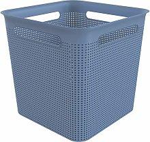 Rotho, Brisen, square storage box 18l with 4