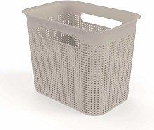 Rotho, Brisen, Storage box 7 l with hole pattern,