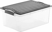 Rotho, Compact, Storage box 13 l with lid A4,