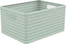 Rotho Country Laundry Basket, Plastic (PP