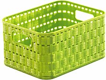 Rotho, Country, Storage basket 2 l in rattan-look