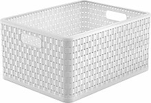 Rotho, Country, Storage basket 28 l in rattan-look