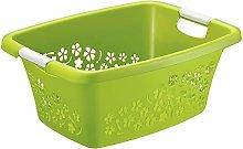 Rotho, Flowers, Laundry basket 25 l, Plastic (PP)