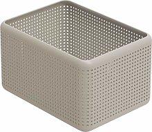Rotho, Madei, Storage box 13l, Plastic (PP) BPA