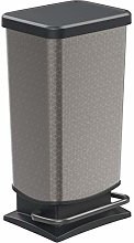 Rotho, Paso, Dustbin 40l with pedal and lid,