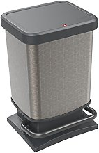 Rotho, Paso, Waste bin 20l with odour-proof lid,