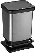 Rotho, Paso, Waste bin 20l with pedal and lid,