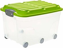 Rotho, Roller 6, Storage box 57 l with lid and