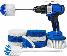 RotoScrub 10-Pc All-in-One Home Cleaning Drill