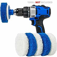 RotoScrub Bathroom Cleaning Drill Accessory Kit