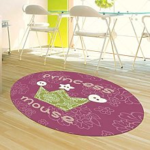 Rotray Sitting Pad Area Rugs for Bedroom for