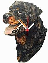 Rottweiler Clock - D22