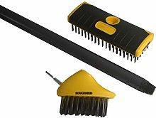 Roughneck ROU52090 Patio & Decking Brush Set 3