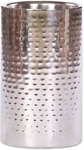 Roullier White - Straight Sided Silver Wine Cooler