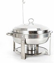 Round 7.5 L Chafing Dish Food Warmer Buffet