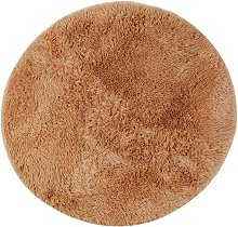 Round Area Rug Carpet, Thick Long Hair Fluffy Soft