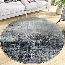 Round Area Rug for Teen Girls Room, Circle Carpet