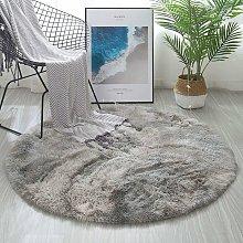 Round Area Rugs Fluffy Bedroom Rug Shaggy Bedroom