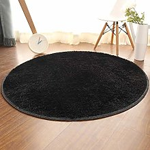 Round Area Rugs Soft Home Shaggy Carpets Floor