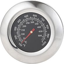 Round BBQ Gill Oven High Temperature Thermometer