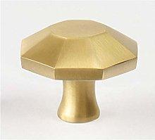Round Brass Dresser Knob Drawer Handle Cabinet