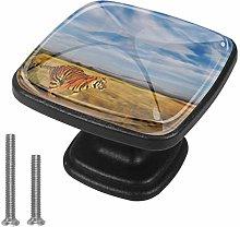 Round Cabinet Hardware Knob (4 Pack) - Bengal