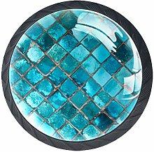 Round Cabinet Hardware Knob (4 Pack) - Shiny