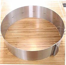 Round Cake Ring Stainless Steel Retractable Circle