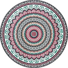Round Carpet Area Rugs Bohemian Style Round Rug